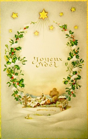 Antique french postcards happy holidays from baudelaire baudelaire as a special treat for the holidays here is a sweet peek into an early and french version of the tradition of sending holiday cards to family and m4hsunfo